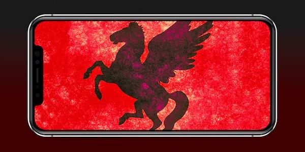 NSO Group Pegasus Spyware on iPhone, iOS.